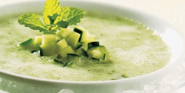 Receta de Sopa Fría de Pepino