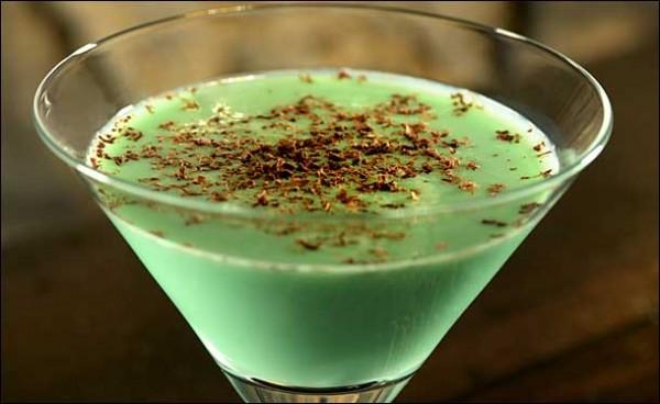 Receta de Cocktail Grasshopper