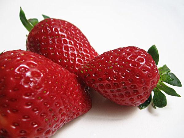 Mascarilla casera de fresas