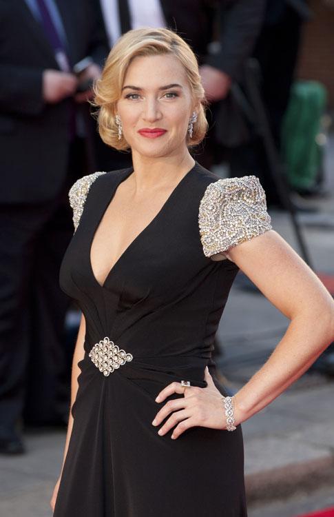 Kate Winslet en la premiere de Titanic 3D en Londres