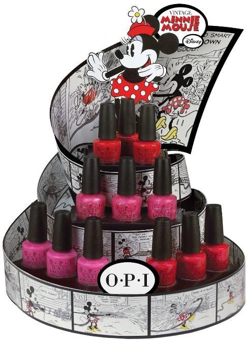 OPI lanza una colección especial de Disney