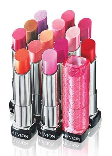 Nuevos tonos de labiales de Revlon para la primavera 2012
