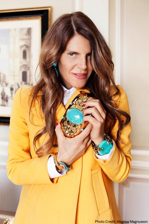 Anna Dello Russo en colaboración con H&M
