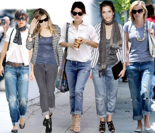 Vuelven los jeans estilo boyfriend