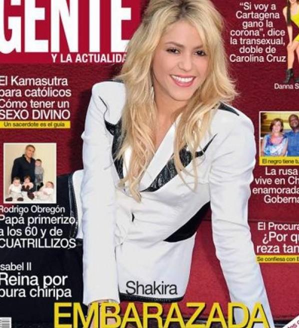 Shakira y Piqué serán papás