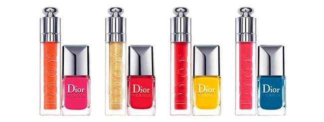 Summer Mix Collection by Dior, esmaltes y labiales