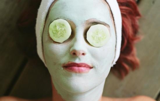 Mascarilla de pepino para las pieles normales