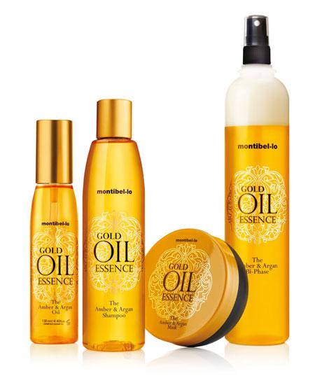 Nueva gama capilar Gold Oil Essence by Montibello