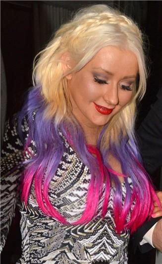 Los nuevos tonos de Christina Aguilera