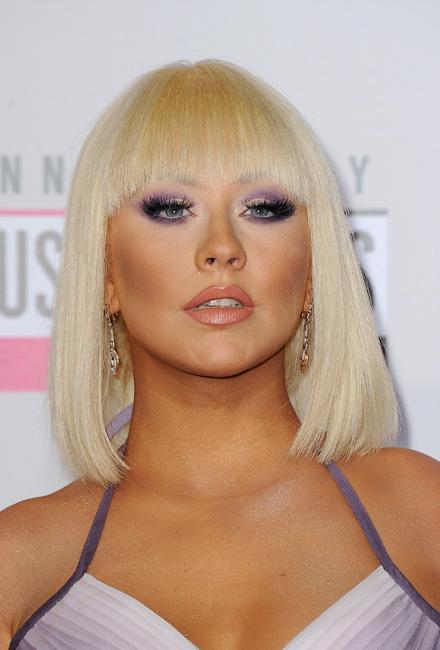 Christina Aguilera se pasa a la melena midi