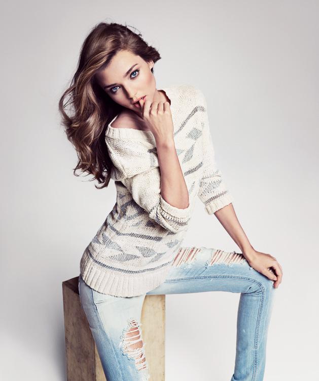 Primeras imágenes de la campaña Primavera-Verano 2012 by Mango con Miranda Kerr