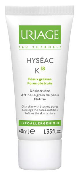Hyséac K18, lo último de Uriage para mantener el acné a raya