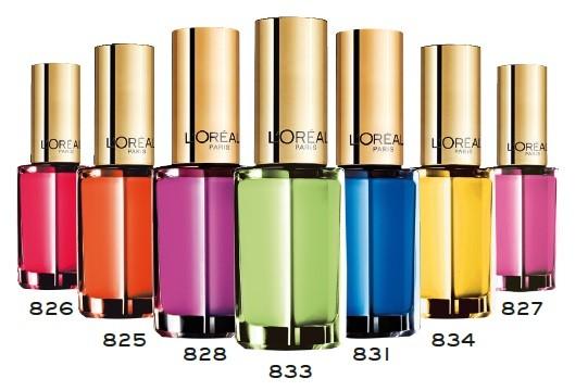 Neones, la nueva gama de esmaltes de uñas de L'Oréal
