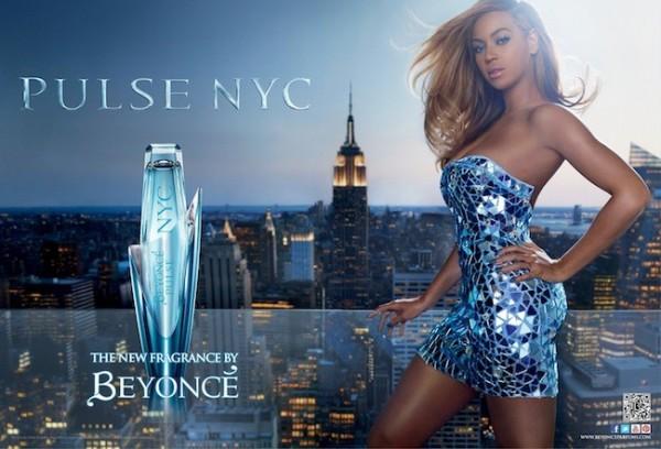 Pulse NYC, la nueva fragancia de Beyoncé
