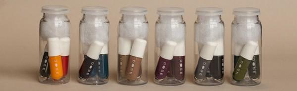 Unidose, el frasco con tres mini lacas de uñas para una aplicación