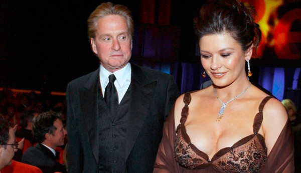 Michael Douglas y Catherine Zeta-Jones en pleno divorcio