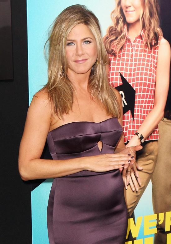 Jennifer Aniston solo ha engordado unos kilos