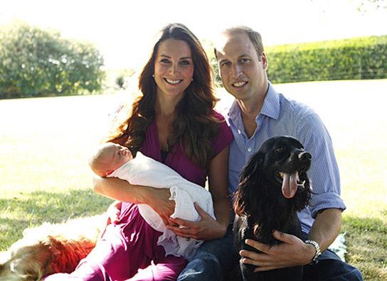 Ya tenemos las primeras fotografías de William, Kate y George