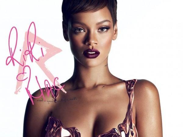 Rihanna y su nueva colección de maquillaje con MAC Cosmetics
