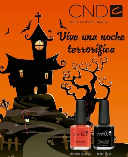 Nuevos esmaltes de uñas de CND para la noche de Halloween