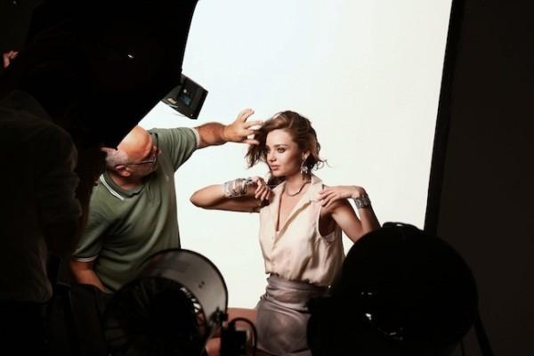 Miranda Kerr, la nueva imagen de la firma de joyas Swarovski