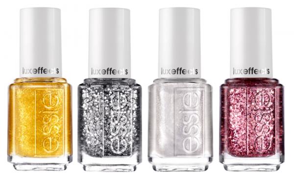 Luexeffects, los esmaltes con brillo de Essie para la Navidad de 2013
