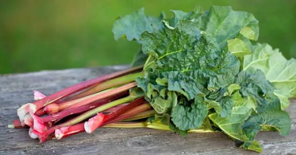 El ruibarbo, una forma estupenda de añadir vitaminas y minerales