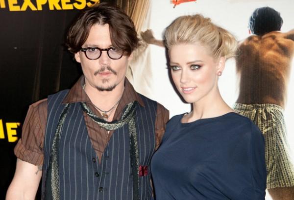 Johny Depp y Amber Heard podrían estar esperando su primer bebé