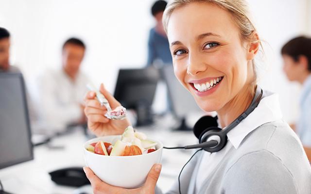 Consejos sobre cómo cuidar la dieta en el trabajo (I)