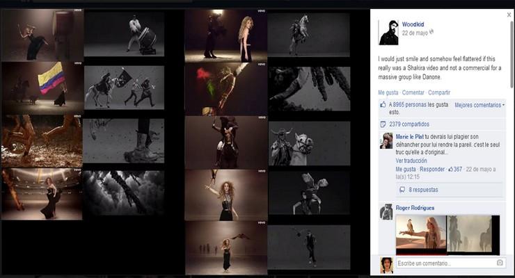 Shakira acusada de plagiar en el vídeo del Mundial