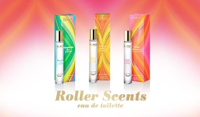 Perfumes roll-on de la marca Kiko