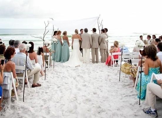 ¿Qué debemos ponernos para una boda en la playa?