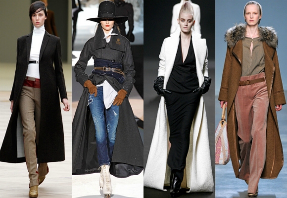 Abrigos largos, tendencia para el invierno de 2015
