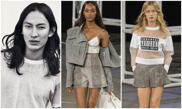 Alexander Wang presenta su colección para H&M en Nueva York