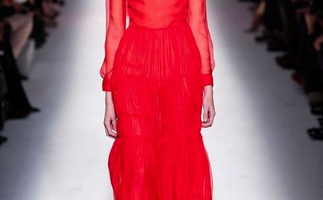 El rojo pasión, otro de los colores tendencias