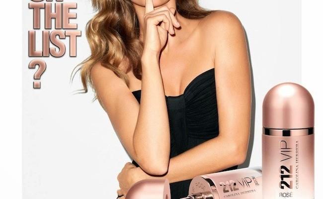Gisele Bündchen nos presenta el anuncio del nuevo perfume 212 de Carolina Herrera VIP Rosé