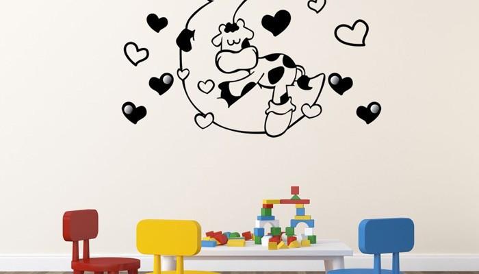 Según Vinilosinfantiles.com, interioristas y decoradores prefieren los vinilos de pared